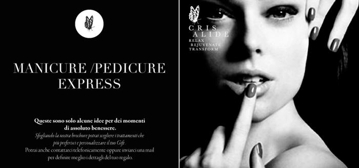 Manicure pedicure express